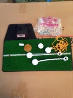 Thoải mái chơi golf tại nhà với thảm tập swing mat