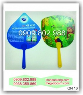 Sản xuất quạt nhựa quảng cáo,  quạt nhựa các loại