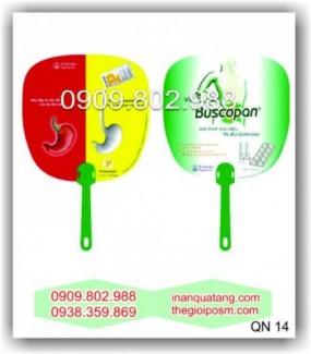 Quạt nhựa quảng cáo giá rẻ, ở đâu bán quạt nhựa giá rẻ