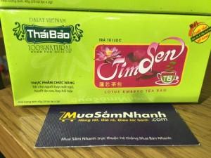Trà Tim Sen Thái Bảo - Hộp 20 tép - L'ANGFARM - Đặc sản Đà Lạt