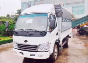 Xe tải TMT 2t2 vào thành phố