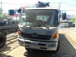 Bán xe tải Hino FG8JPSB 2016 thùng mui kèo bạt siêu dài, có sẵn