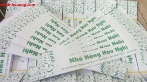 In bao đũa, in bao bì đũa giá rẻ ở Hà Nội