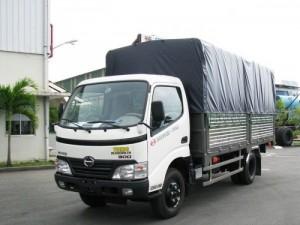 Xe tải Hino FG8JPSB mui bạt mới tải trọng 9T4, mới có sẵn, giao xe toàn quốc