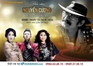 Bán vé Đêm nhạc Nguyễn Cường: tuổi thơ tôi Hà Nội
