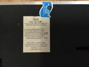 Cần bán đầu CD WADIA 581SE màu bac.