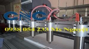 Máy cắt khắc cnc 1820 6 đầu - nhập khẩu chất lượng