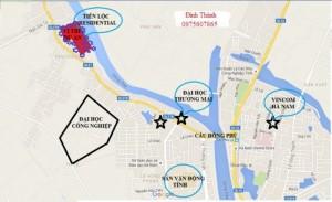 Bán đất hà nam giá rẻ 4tr/m2 dự án Tiến Lộc Resindence.