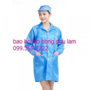 Quần áo phòng sạch chống tĩnh điện giá rẻ