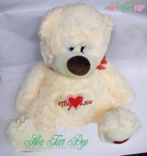 Gấu Bông Cực ÊM Ái Mềm Mịn - GB018
