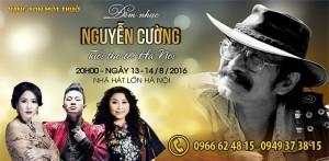 Bán vé liveshow nhạc sĩ Nguyễn Cường - Tuổi thơ tôi Hà Nội