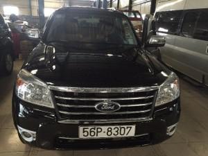 Bán Ford Everes 4x4 Mt sx 2011 màu đen