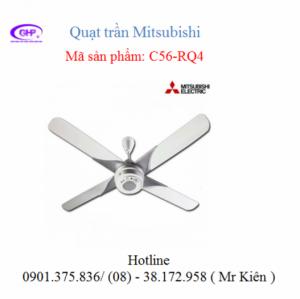 Quạt trần 4 cánh Mitsubishi C56-RQ4, chính hãng giá tốt  Thông tin liên hệ:   Địa chỉ: 336/27/12 Nguyễn Văn Luông, Phường 12, Quận 6, TP.HCM