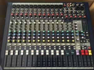 Mixer soundraf mfx 12/2 hàng chuẩn