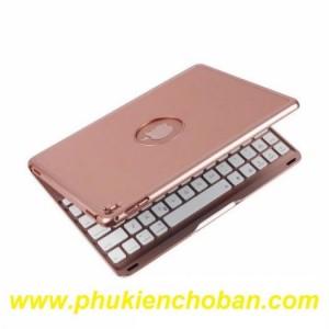Bàn phím kiêm ốp lưng giá đỡ 7 màu đèn cho ipad Pro 9.7 Bluetooth