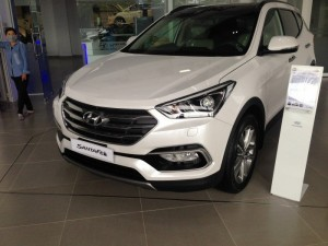 Hyundai Santafe 2017 Full xăng giá tốt