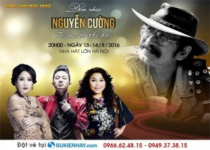 Bán vé  Đêm nhạc Nguyễn Cường tại Hà Nội