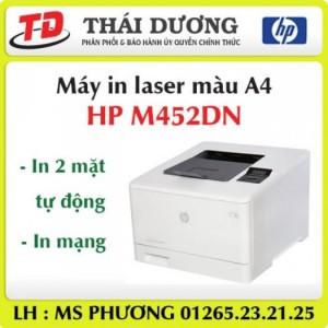 Máy in laser màu a4 HP M452Dn giá ưu đãi nhất !