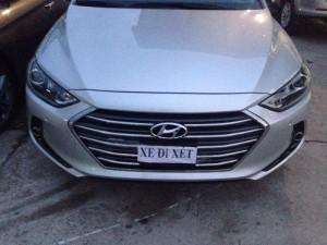 Hyundai Elantra 2016 phiên bản cao cấp nhất.