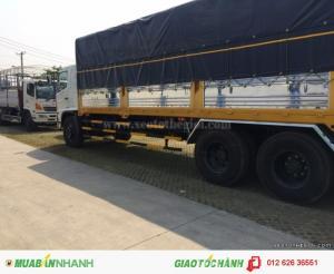 Xe tải Hino FL8JTSL mui bạt mới tải trọng 16 tấn, mới có sẵn, giao xe toàn quốc