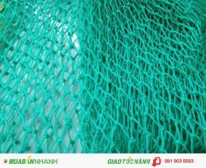 Lưới an toàn PE 2.5cmx2.5cm thi công nhà thép