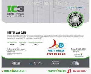 Chứng chỉ tin học IC3 quốc tế thi Công chức -...