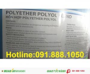Bán-Polyether-Polyol-Blend dùng trong sơn cách nhiệt, tấm cách nhiệt PU.