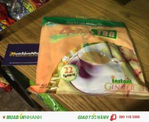 Giới thiệu Trà Gừng Hòa Tan (Bịch) - L'ANGFARM - Đặc sản Đà Lạt - TD - DS048