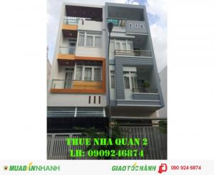 Cho thuê nhà phố Trần Lựu, 5PN, tiện kinh doanh, văn phòng, giá 27tr/tháng