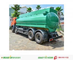 Tải trọng cho phép22000L/20000L Tổng trọng lượng xe và hàng hóa, Kg30,000