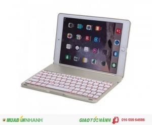 Bàn phím 7 màu đèn bluetooth cho iPad Air 2 ipad 6 ipad pro 9.7