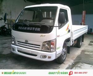 Giá xe veam vt200-1 thùng bạt, thùng kín, thùng lửng dài 4m tại tphcm