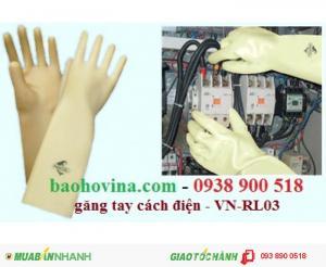 Găng tay cao su cách điện VN-RL03 - chuyên cung cấp găng tay cách điện