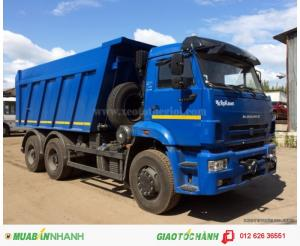 Bán xe ben Kamaz 65115 (15 tấn) 10,3 m3, xe tải tự đổ Kamaz 65115