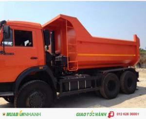 Xe tải Ben Kamaz 65115 -15 tấn trả góp lãi suất thấp, giao xe toàn quốc