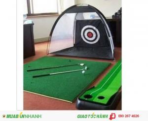 Khung lưới tập golf, bộ chơi golf mini