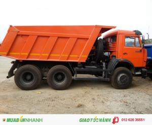 Bán xe ben Kamaz 65115 15 Tấn (6x4) 10.3m3 Nhập khẩu 2016 giá rẻ