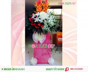 Mẫu Hoa Khai Trương Đẹp - KT111