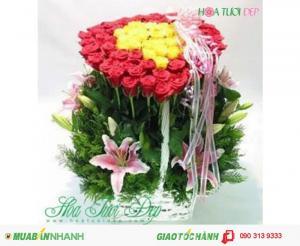 Hoa Tình Yêu Lãng Mạn - TY021