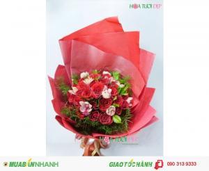 Bó Hoa Tình Yêu Giá Rẻ - TY057