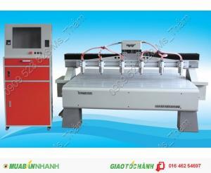 Máy CNC 6 đầu đục tranh 3 D giá rẻ
