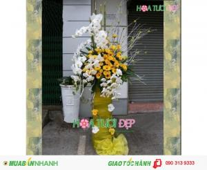 Mẫu Hoa Khai Trương Sang Trọng - KT023