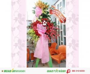 Kệ Hoa Khai Trương Đẹp - KT057