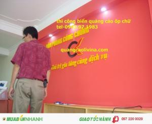 Biển chữ mica, làm biển mica giá rẻ tại Thanh Xuân, Hà Nội