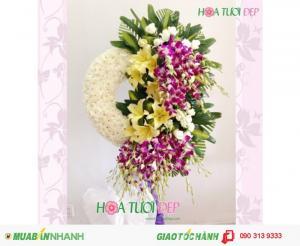 Dịch vụ điện hoa  - Hoa chia buồn HCM - TL059