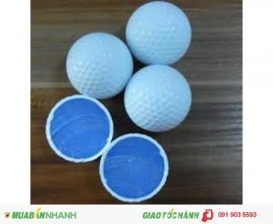 Bóng golf 2 lớp nổi đánh ra hồ