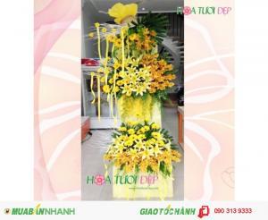 Kệ Hoa Khai Trương Sang Trọng Quận 10 HCM - KT102