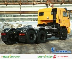 Bán Đầu kéo Kamaz 65116 (6x4) 38 tấn, Bán xe đầu kéo Kamaz nhập khẩu Nga