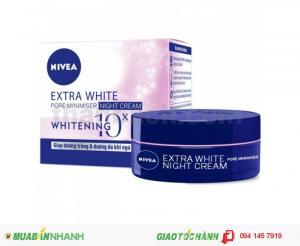 NIVEA Extra White Pore Minimiser Night Cream SPF30 50ml  112,000đ