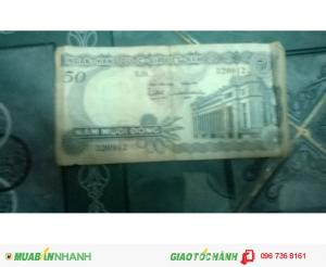 Cần bán tiền ngày xưa năm mươi đồng